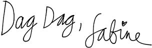handtekening sabine wisman
