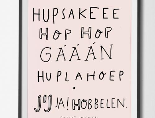 Poster Hupsakeee
