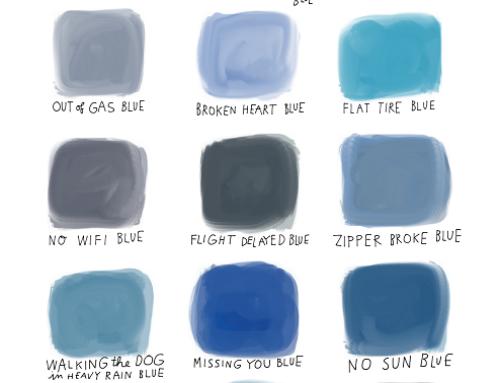 Feeling blue indicator