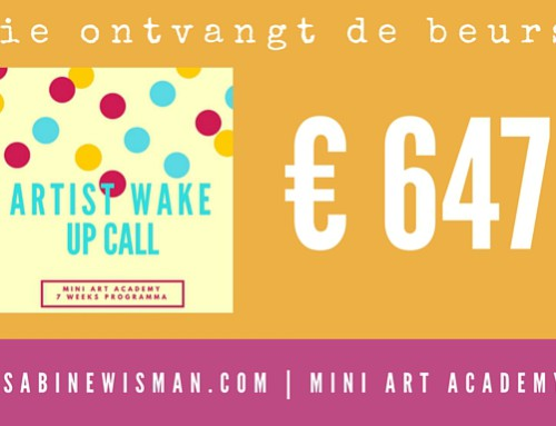 Wie wint de beurs voor de Artist Wake Up Call?