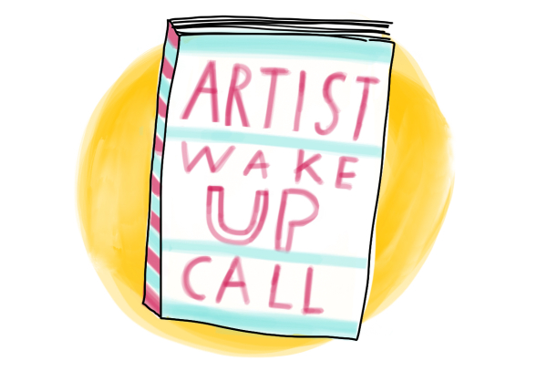 boek artist wake up call