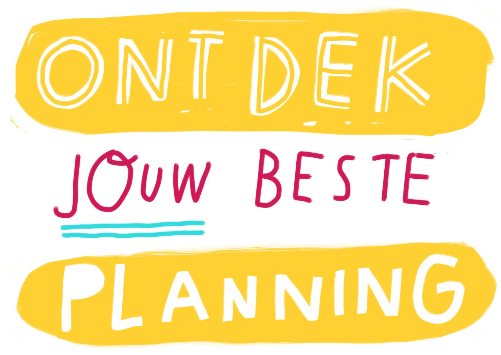 beste planning ondernemer