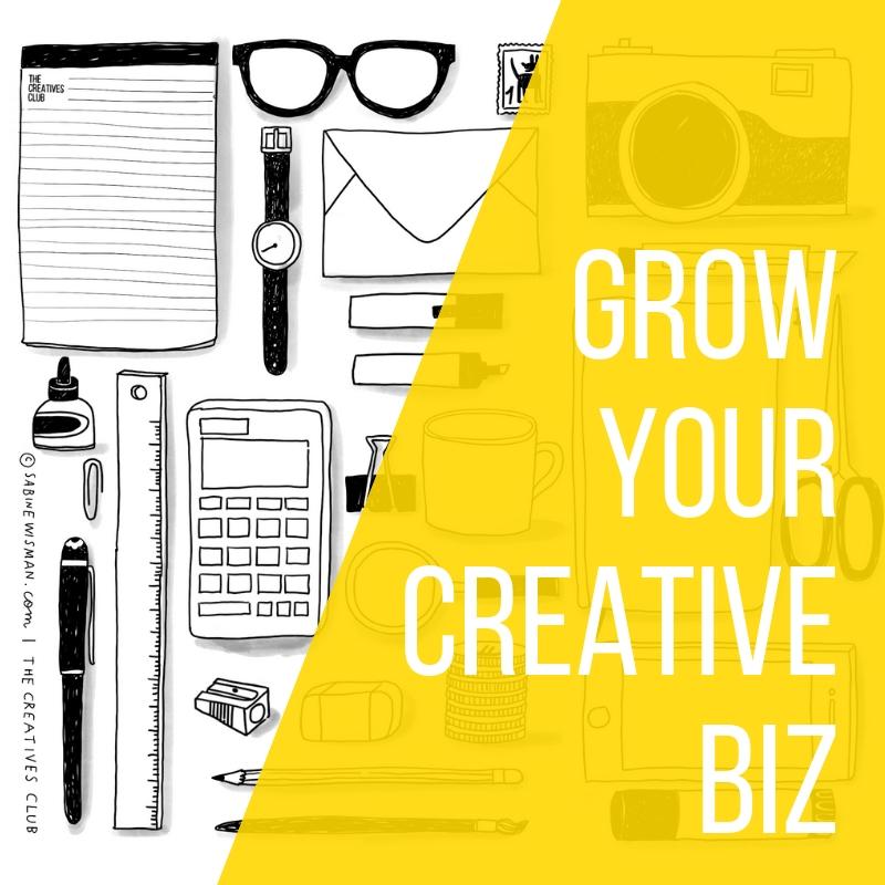 Grow Your Creative Biz ondernemer