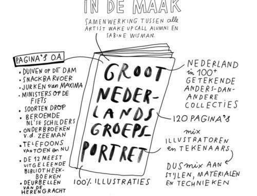 Boek: 'Groot Nederlands Groepsportret' in de maak