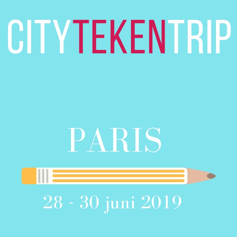 city teken trip workshop tekenen